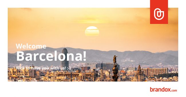 Brandox in Barcelona with brand asset management tool